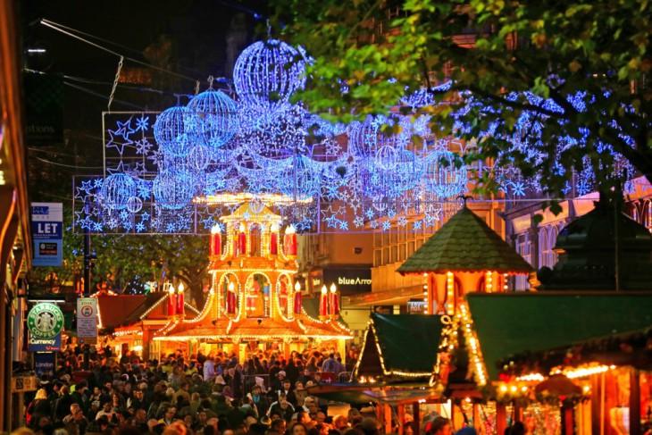 x10 самых красивых рождественских ярмарок Европы